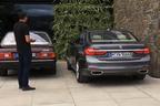 【動画】世界初!BMW「7シリーズ」にリモコン操作で自動駐車する機能を搭載
