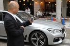 世界初、車外から「自動駐車」! 新型 BMW 7シリーズ「リモート・パーキング」(自動駐車機能)を初公開