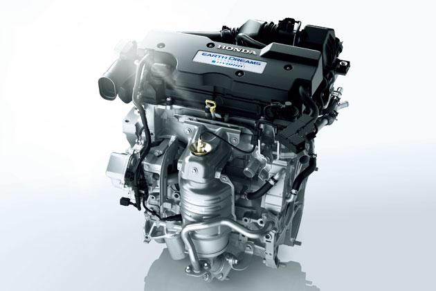 2.0L DOHC i-VTECエンジン