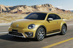 VW、伝説のサンドバギーを現代風にアレンジした「ザ・ビートル」限定車を販売