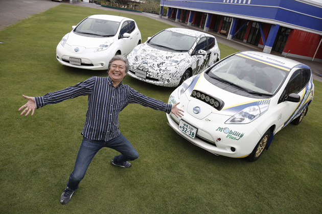 電気自動車って実は、走りもたのしいんです!/日産 新型「リーフ」試乗レポート「ジムカーナ」編