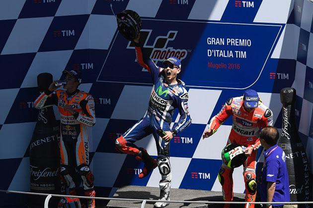 今季3勝目を獲得した#99 ホルヘ・ロレンソ/MotoGP 第6戦 イタリアGP