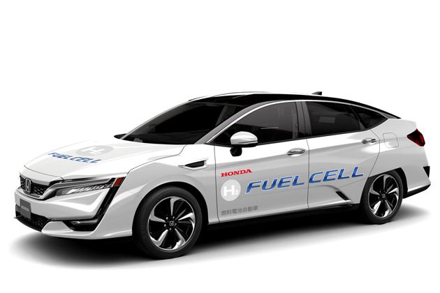 燃料電池自動車「CLARITY FUEL CELL(クラリティ フューエル セル)」