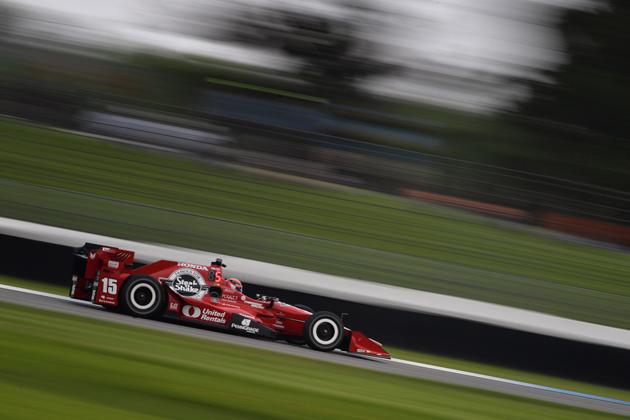 2016 インディカー・シリーズ 第5戦 インディアナポリス 予選にて、グレアム・レイホール選手