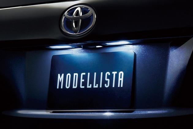 トヨタ エスティマ/エスティマハイブリッド MODELLISTA LEDライセンスランプ