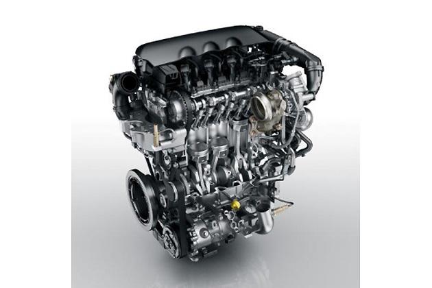 1.2リッターPureTech 3気筒ターボ付きガソリンエンジン