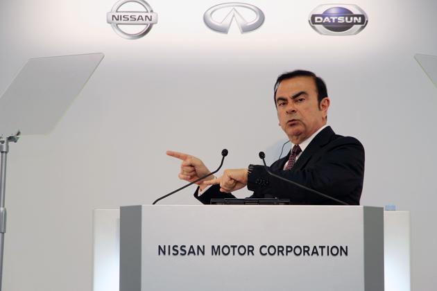 日産自動車 CEO カルロス・ゴーン氏
