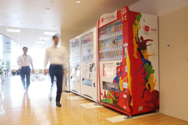JOCオリンピック支援自販機