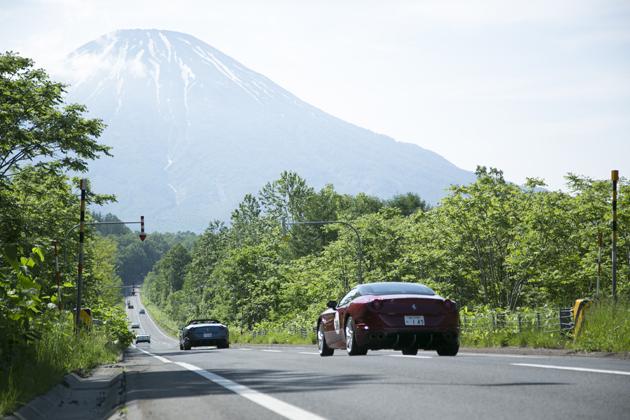 フェラーリ 北海道ラリー 2016