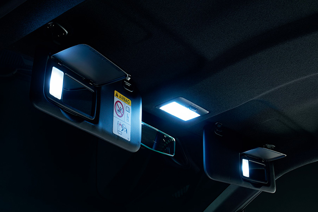 LEDルームランプセット(面発光タイプ)