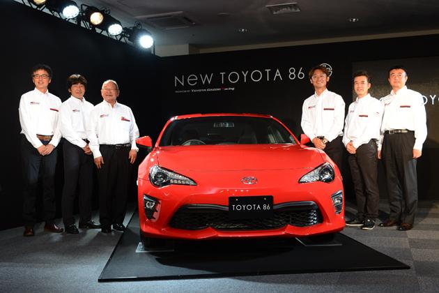 トヨタが込める強い「想い」/新型 86(ハチロク・2016年7月マイナーチェンジ・後期型) 発表会レポート