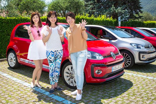 """インテリアをガラリとチェンジ!VW顔になった新型「up!」のターゲットはズバリ""""若者""""!【海外速攻試乗】"""