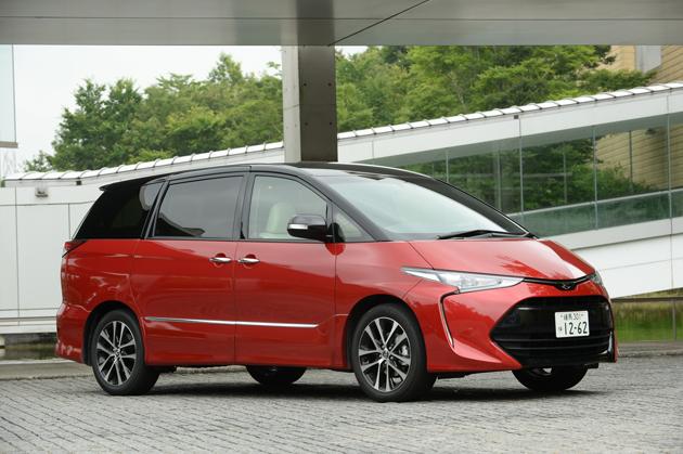 トヨタ 新型「エスティマ」「エスティマハイブリッド」(2016年6月マイナーチェンジモデル)