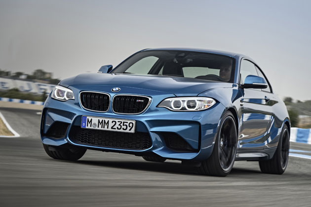 BMW 新型 M2 クーペ (海外試乗)