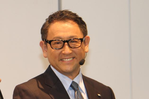 トヨタ自動車 代表取締役社長 豊田章男氏