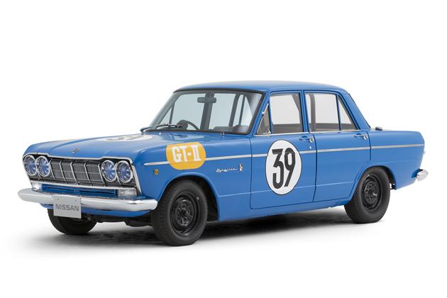 プリンス・スカイラインGT 第2回日本グランプリ GT-IIレース仕様車 S54A-1型(1964年)