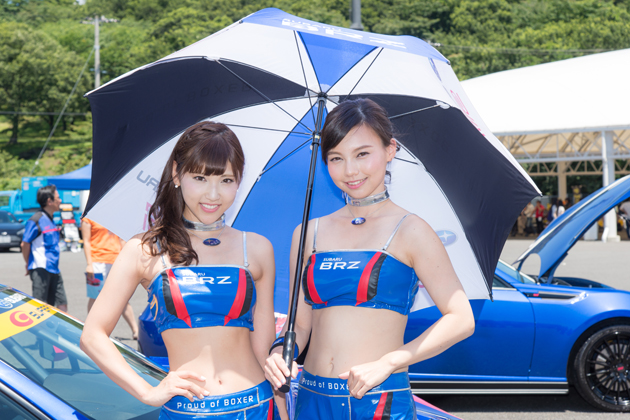 SUBARU BRZ GT GALS 2016「BREEZE」
