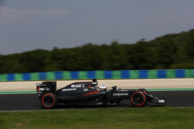 マクラーレン・ホンダF1 ハンガリーGP2016