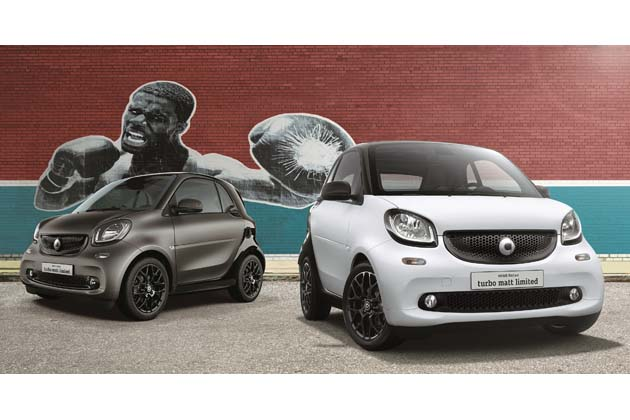 smart fortwo turbo matt limited