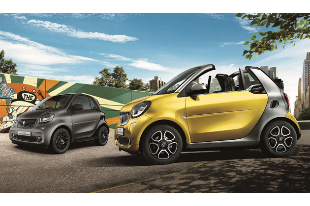 smart fortwo cabrio turbo limited