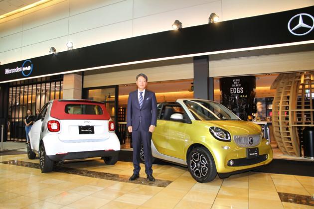 Mercedes me Tokyo HANEDA 1周年/smart turbo プレス発表会[2016年08月03日(水)/会場:Mercedes me Tokyo HANEDA(東京都大田区)]