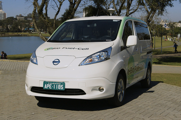 e-Bio Fuel Cellプロトタイプ(e-NV200)