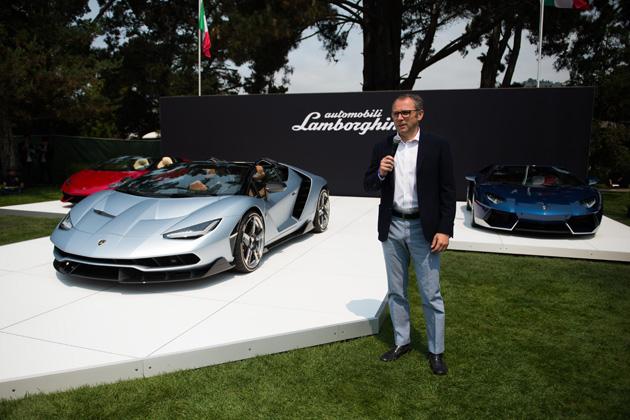 ランボルギーニ 新型「チェンテナリオ・ロードスター」