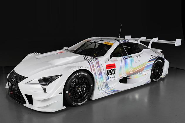 レクサス LC500 2017スーパーGT GT500クラス参戦車両