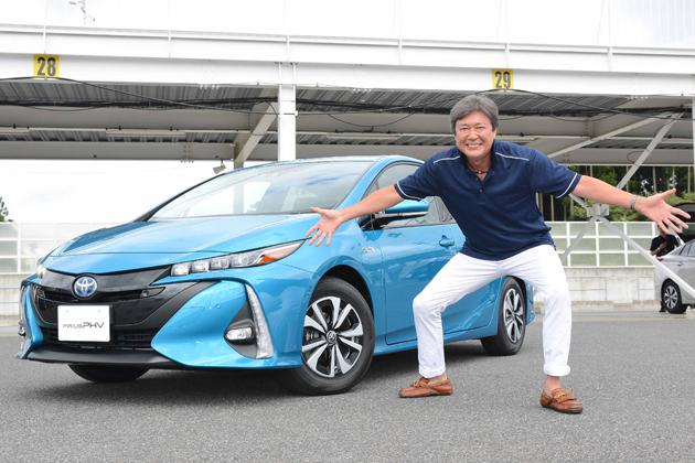 トヨタ 新型プリウスPHV サーキット試乗