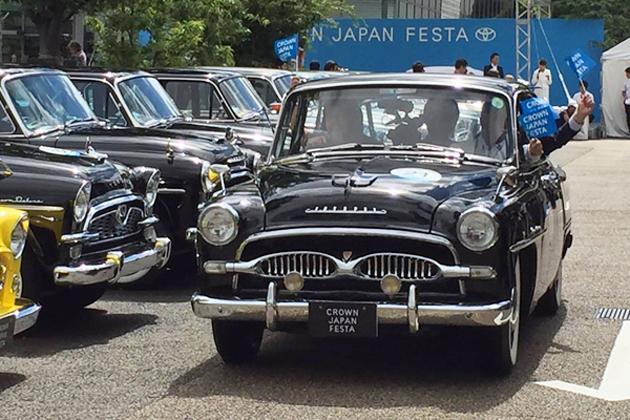 レストアされた歴代クラウンが430キロを走破!「CROWN JAPAN FESTA in 代官山」