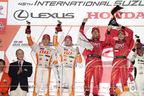 レクサス RC F、3年連続の1-2フィニッシュで鈴鹿1000kmを制覇!【スーパーGT第6戦・トヨタレポート】
