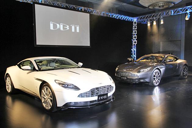 どんなシーンでも活躍できるシリーズ史上最速のアストンマーティン 新型「DB11」が日本初登場