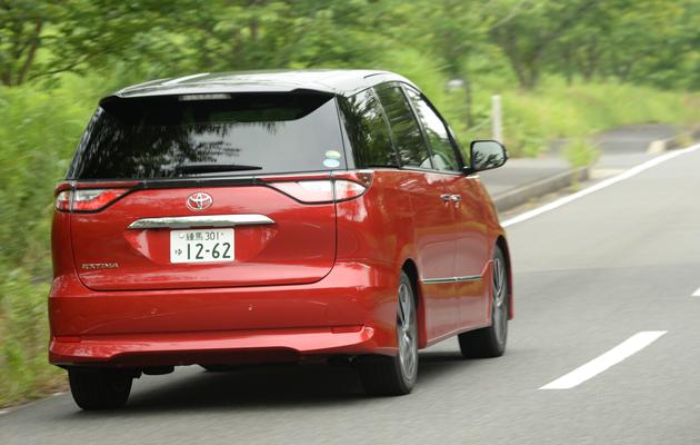トヨタ 新型エスティマ(2016年マイナーチェンジモデル)