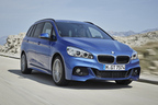 BMW、「2シリーズ アクティブツアラー/グランツアラー」のM Sportモデルにパドルシフトを装備