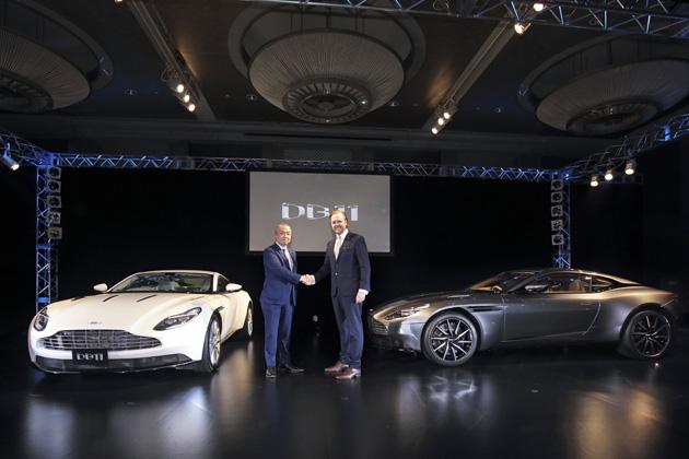 アストンマーティン「DB11」発表会