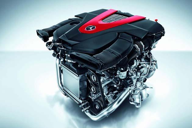 V6ツインターボエンジン