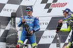 スズキ、『MotoGP』で9年ぶり優勝!ビニャーレスが圧巻の走りでイギリスGPを制す!