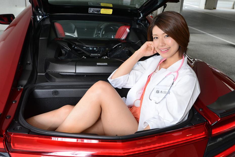 ホンダ NSX/藤木由貴の新型車診察しちゃうぞ!