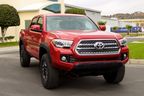 トヨタ、北米でピックアップトラック「タコマ」の生産能力を増強