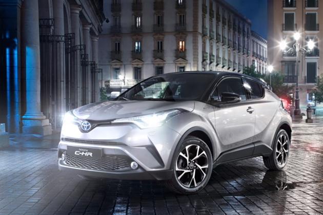 欧州で発売間近のトヨタ「C-HR」、パリモーターショー2016でいよいよ全容公開!