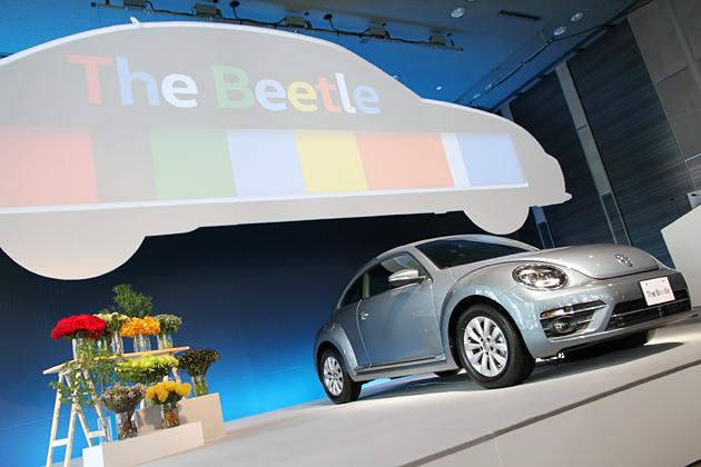 フォルクスワーゲン 新型「ザ・ビートル」が、最大32通りのカラーコンビネーションとなって登場!