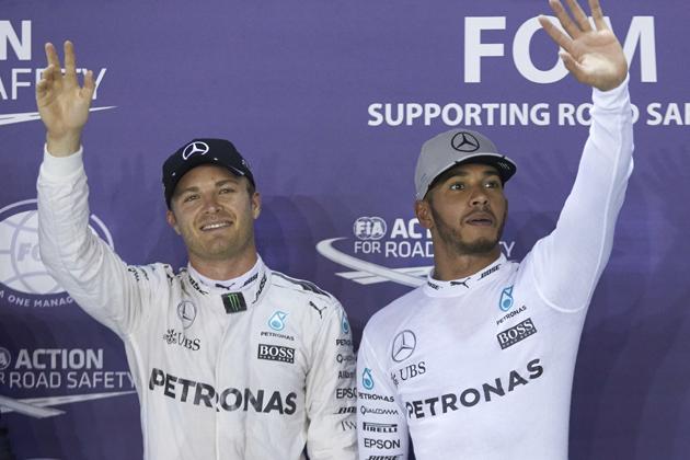 F1GP2016、チャンピオン争いのニコ・ロズベルグvsルイス・ハミルトンの構図