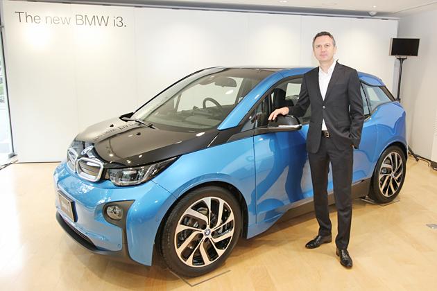 新型は一充電で東京から大阪まで走行可能!BMW 新型「i3」が10月より発売開始