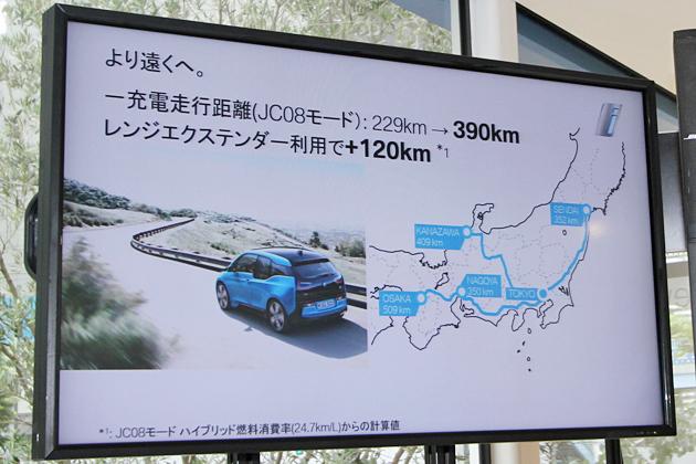BMW 新型i3製品概要
