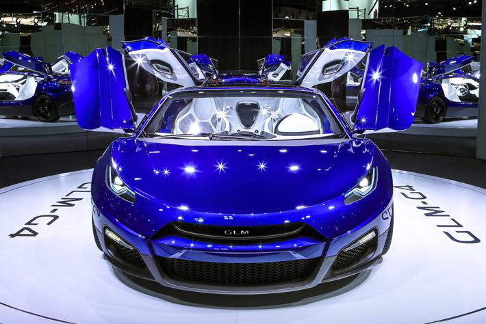 次世代EVスーパーカーコンセプト「GLM G4」