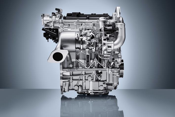 量産型可変圧縮比エンジン「VC-T」