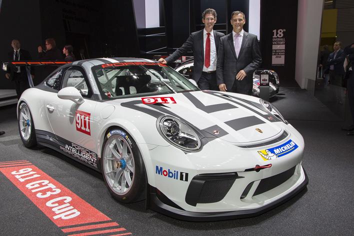 ポルシェ「911 GT3 Cup」/パリモーターショー2016 現地画像
