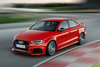 アウディ 新型「RS 3 セダン」を発表…市販モデルで最強の5気筒エンジンを搭載