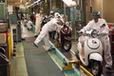 原付スクーターを生産しているホンダの熊本製作所