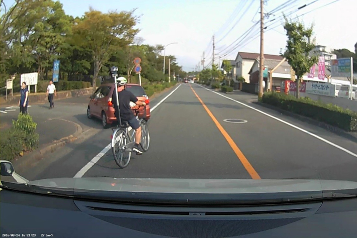 360°VR動画で気づく!こんな自転車運転が実は危ない!